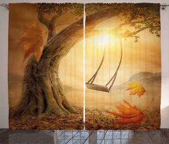 Majestic Tree Magic Curtain