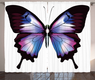 Vivid Insect Curtain