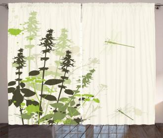 Wildflowers Grassland Curtain