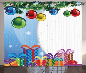 Surprise Boxes Balls Curtain