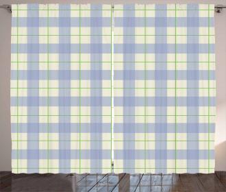 Classical Celtic Tile Curtain