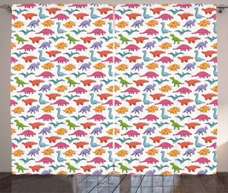 Colorful Kids Pattern Curtain