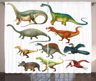 Jurassic Collection Curtain