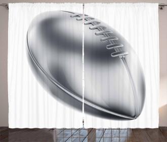 American Football Motif Curtain