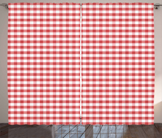 Traditional Gingham Curtain