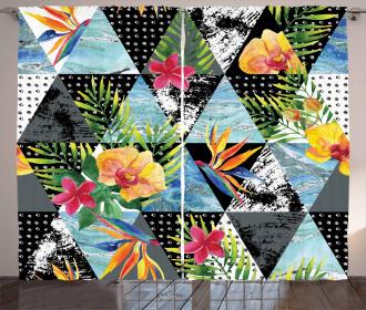 Exotic Geometrical Curtain