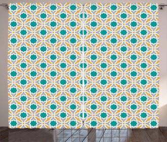 Oriental Eastern Design Curtain