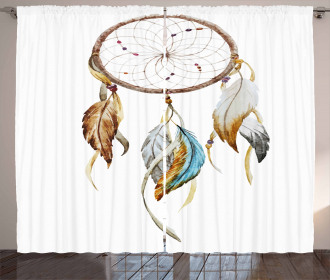 Native American Watercolor Curtain
