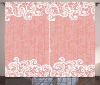 Laces Design Ornamental Curtain