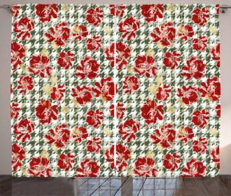Scottish Houndstooth Curtain
