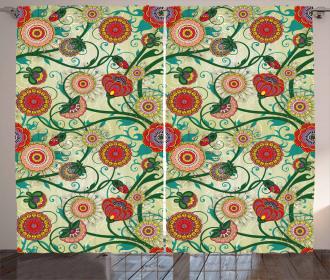 Oriental Inspirations Curtain