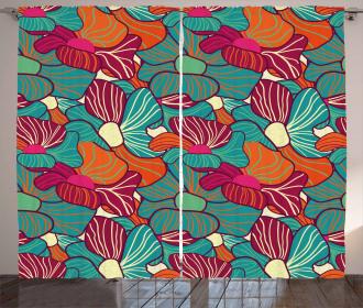 Flourish Foliage Petals Curtain