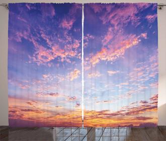 Ethereal Sky Curtain
