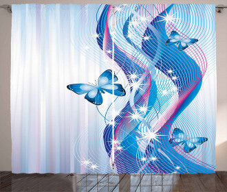 Magic Butterfly Curtain
