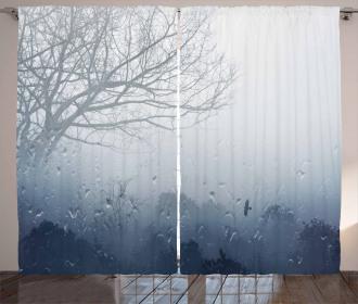 Mystic Romantic Scenery Curtain