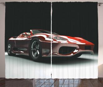 Automotive Industry Theme Curtain