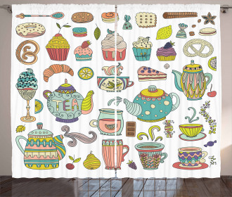 Coffee and Dessert Curtain