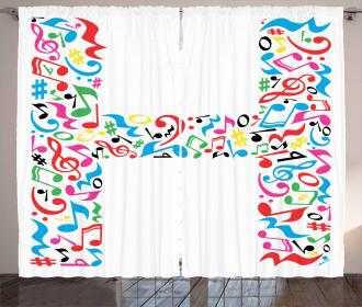 Capital Musical Happy Curtain