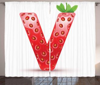 ABC of Organic Life V Curtain