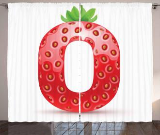 Vibrant Fruit Capital Curtain