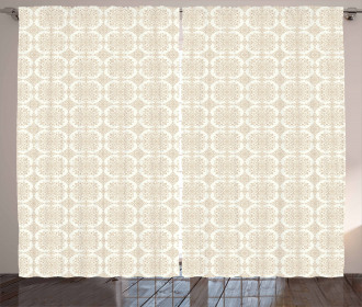 Traditional Eastern Lace Curtain