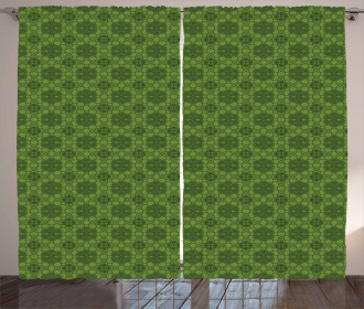 Mandala Geometrical Floral Curtain