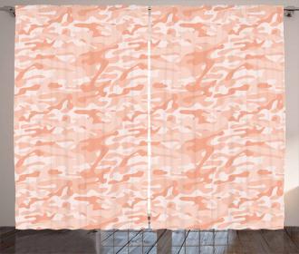 Soft Peach Tones Curtain