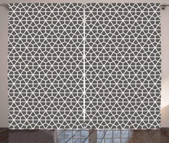 Eastern Hexagonal Curtain