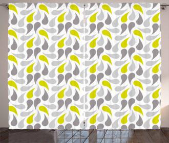 Abstract Paisley Curtain
