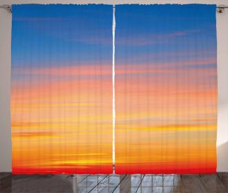 Majestic Dramatic Sunset Curtain
