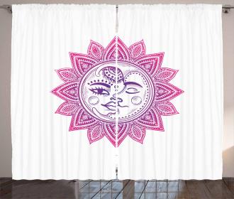 Celestial Elements Floral Curtain