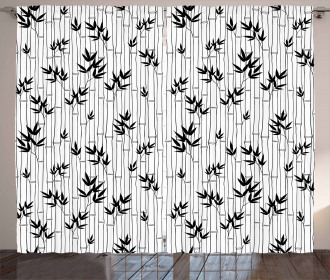 Chinese Forest Design Curtain