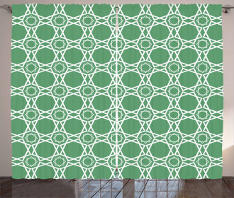 Moroccan Traditional Tile Curtain