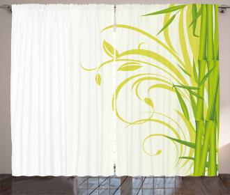 Feng Shui Asian Garden Curtain