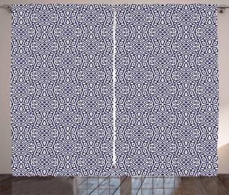 Kaleidoscopic Vintage Curtain