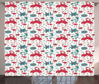 Valentines Kissing Curtain