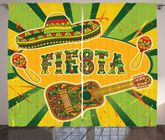 Latino Elements Guitar Curtain