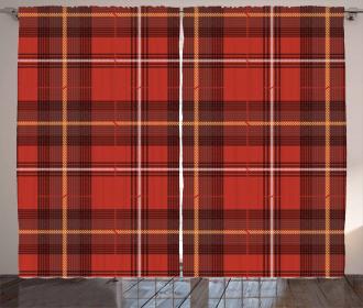 European Cultural Pattern Curtain
