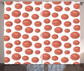 Realistic Style Ball Curtain