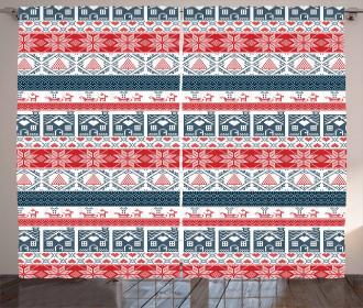 Scandinavian Stitch Curtain