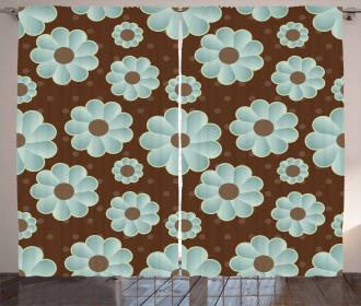 Retro Flora Curtain