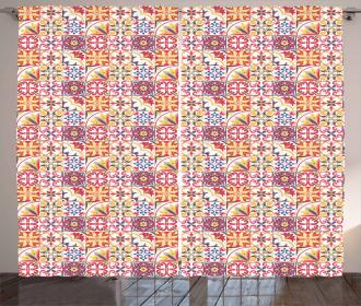 Italian Inspired Motif Curtain