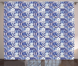 Geometric Elements Curtain