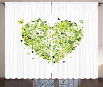 Valentines Day Curtain