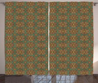 Mystic Orient Elements Curtain