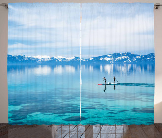 Paddle Boarding Activity Curtain