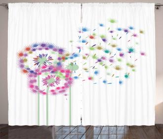 Spring Season Inspiration Curtain