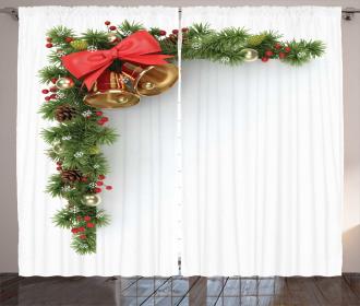 Xmas Corner Bell Curtain