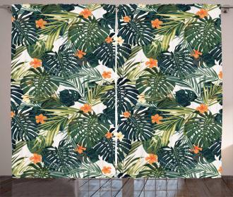 Colorful Polynesia Plant Curtain