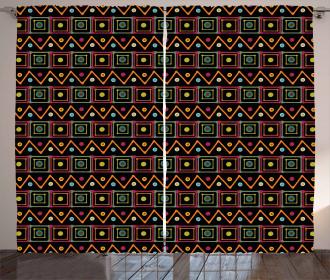 Tribal Herringbone Curtain